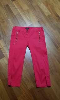 Mango Red Pants