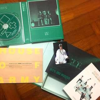 [WTS] BTS 3RD MUSTER DVD WITH JIMIN PC