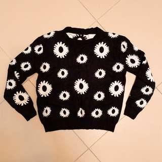 復古短身冷衫 Sweater