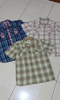 Kemeja anak second old navy guess