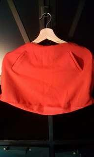 Red Skirt Pants
