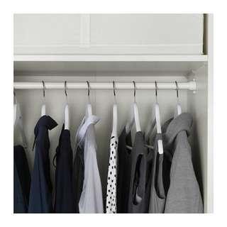 IKEA wardrobe rail