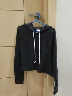 H&M Cropped top hoodie