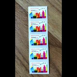 5個$6包郵#永安百貨印花wing on coupon