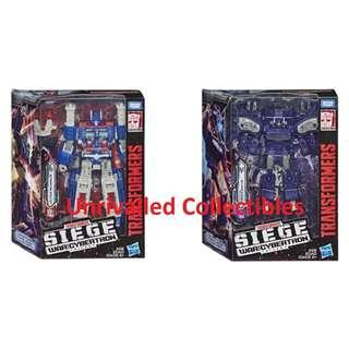 [Pre-Order] Hasbro Takara Tomy TF Siege War For Cybertron WFC Leader Class Wave 1 (set of 2)