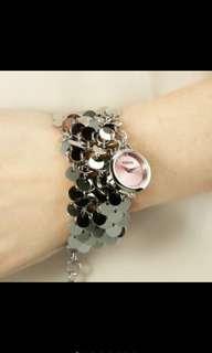 🚚 Versace Versus 真品 凡賽斯 女錶 精品 鏈錶 特價 全新