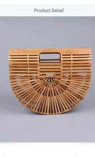 Bamboo straw beach bag! Pre order opens!