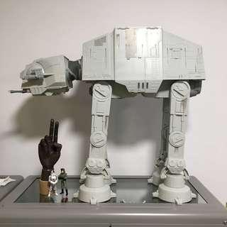 Complete set Star Wars big at-at imperial walker at at bat-at 2ft electronic sound and lights figure potf legacy all Terran Armored transport