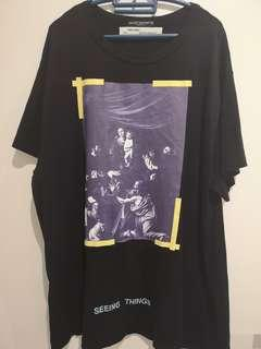 Off-White Diagonal Caravaggio Tee