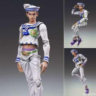 Super action statue josuke higashikata part 8 jojo lion