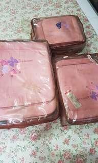 Pierre cardin luggage 3 in 1