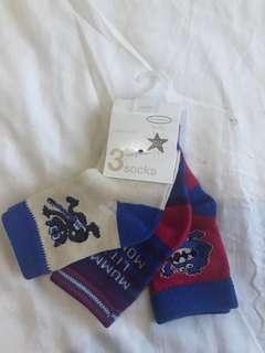 Baby 3-pack Socks