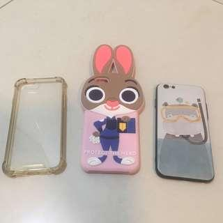 iPhone 6 & 6S Protector Cover High Quality - 3pcs