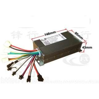 controller brushless ,double mode 48v 28A 400-600w ,for escooter electric scooter ……
