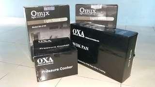 Paketan kompor listrik + pressure cooker + wok pan. JUAL MURAHH