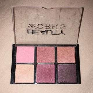 Beauty Works eyeshadow palette - BRAND NEW!!