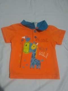 Atasan Polo Bayi Laki-Laki