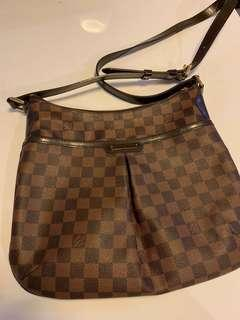 (Preowned) LV damier ebene bloomsbury PM crossbody bag