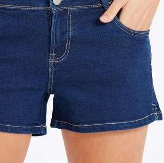 🚚 Cotton On Mid Classic Dark Denim Shorts #single11