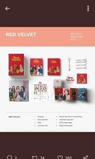 [NON-PROFIT COD] Red Velvet Season Greetings 2019