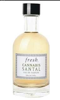 fresh cannabis santal eau de parfum 100ml 100% real and new