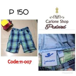Shorts for boys  (C# 11-007)