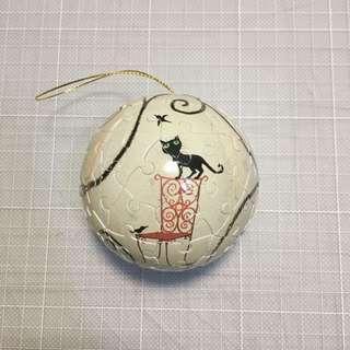 幾米立體拼圖球 違失了一隻貓