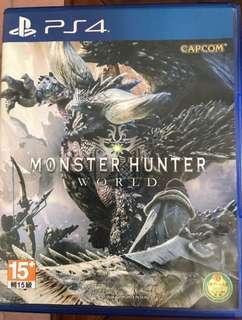 🚚 PS4 魔物獵人世界:Monster Hunter World 中文版