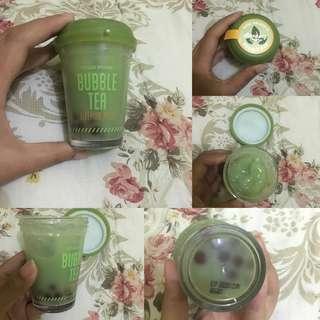 [boleh barter] bubble tea sleeping mask