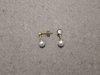 Fashion earrings and rings