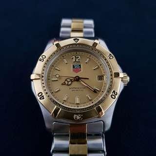 Tag Heuer Classic 2000 Quartz WK1221 half gold mid size 35mm