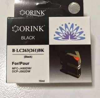 ORINK BROTHER LC263 (261) COMPATIBLE INK CARTRIDGE