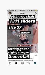 shals 1311 sandals black