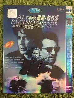 DVD 8 IN 1 MOVIE: AL PACINO GANGSTER MOVIES COLLECTION (1disc)