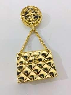 Chanel 小手袋款扣針 - (非Chanel)