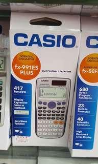 太子店 casio fx991 ES Plus calculator計數機 科學計算機