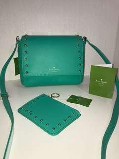 NWT Kate Spade Crossbody Bag & NWT Matching Coin Pouch