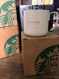 Starbucks Stainless Steel Handle Mug - Frost White