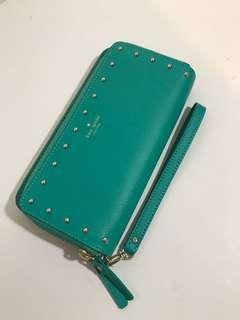 "NWT Kate Spade ""Anita"" Wallet/Wristlet (Green/Aqua)"