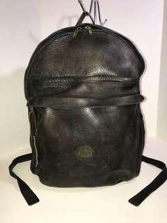 Vintage Roots Leather Backpack