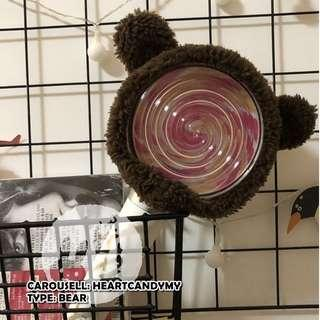 [READY STOCK] Bear Candybong Cover (TWICE Lightstick)