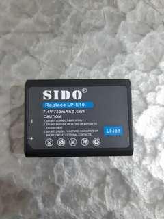 全新 Canon 佳能 LP-E10 代用電池 Battery
