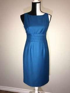 Banana Republic Dress (Blue,Size 4)