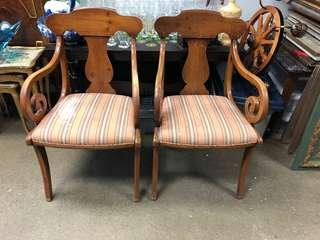 Two project piece chairs