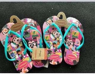 💯Authentic Disney Collection Minnie Mouse Havaianas Flip Flops