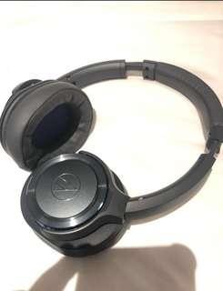 AUDIO TECHNICA HEADPHONE (Gunmetal/Blue)