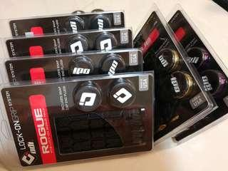 ODI MTB Rouge Grips - Lock-on System, Made In USA - Clearance Sale! $30/each, 1 Purple left.
