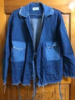 Plainme自製和服罩衫外套