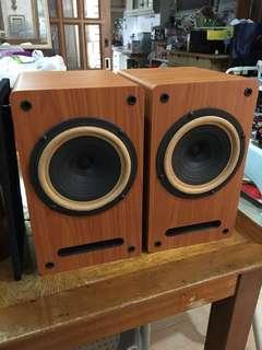 Single driver full range speaker