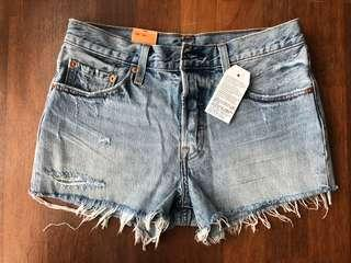[WITH SHIPPING/CLEARANCE] Levis 501 Straight Leg Denim Shorts